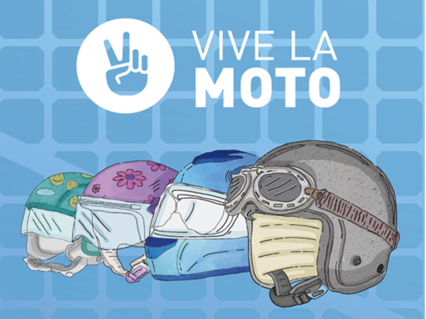 poster vivelamoto