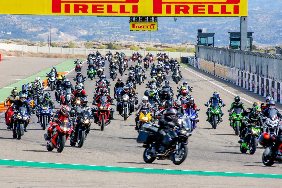Vuelta a la pista de Motorland Aragon tras las carreras de SBK