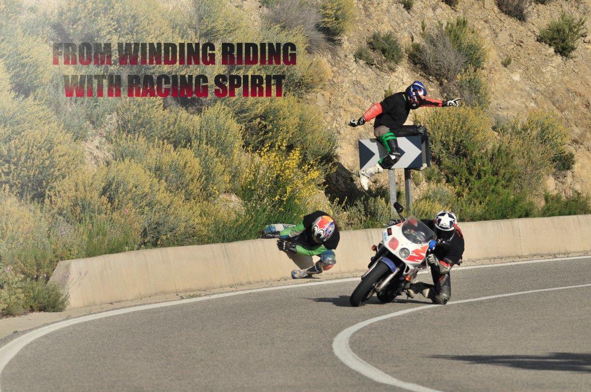winding riding