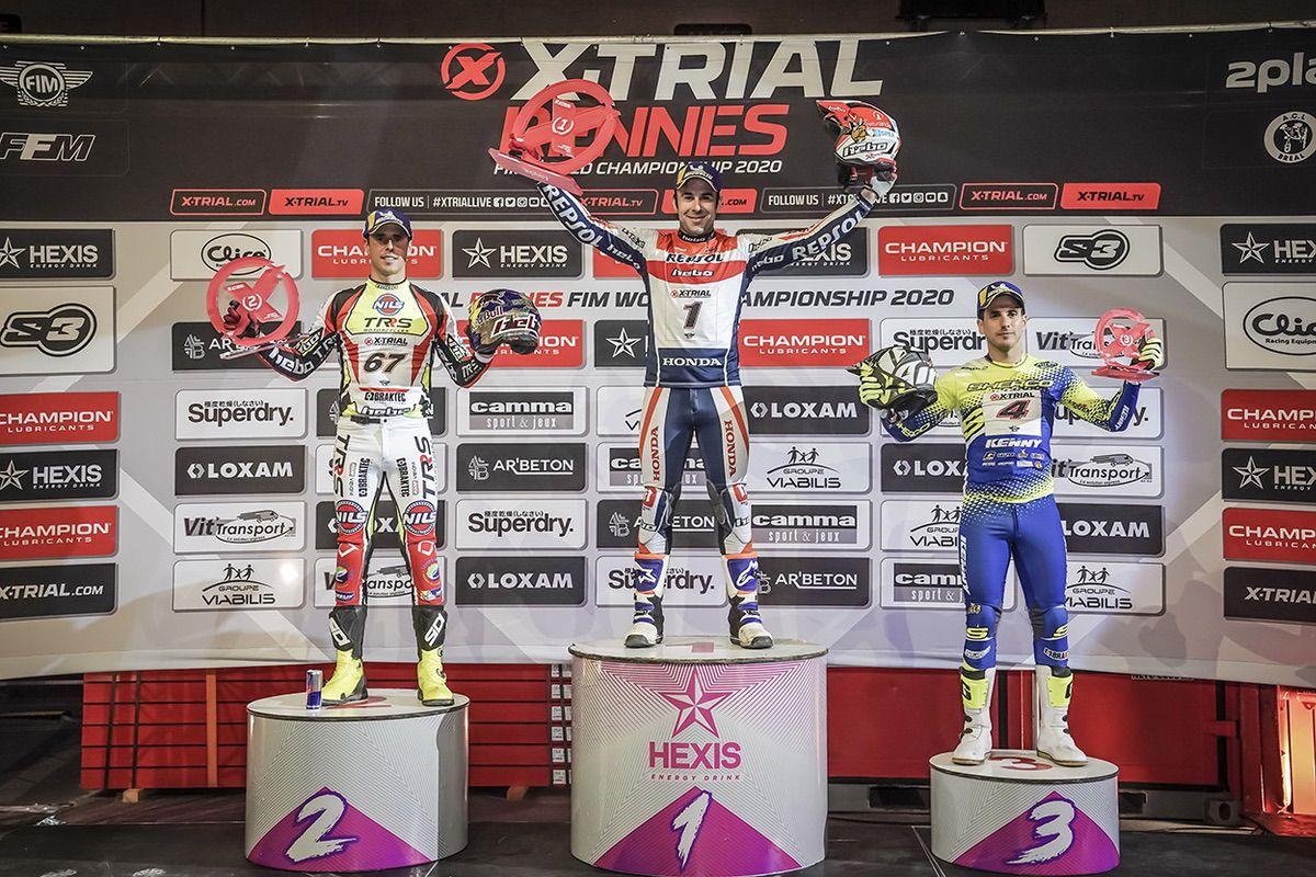 X-Trial Glaz Arena de Rennes, Francia