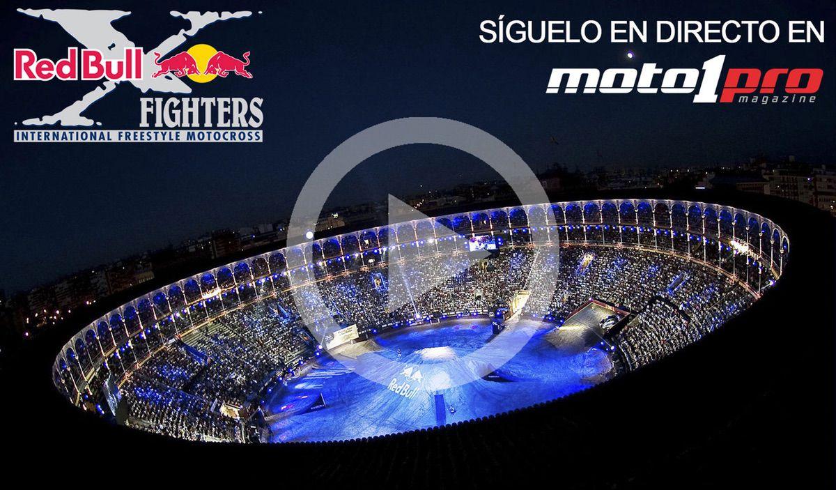 Red Bull X-Fighters en directo en Moto1Pro