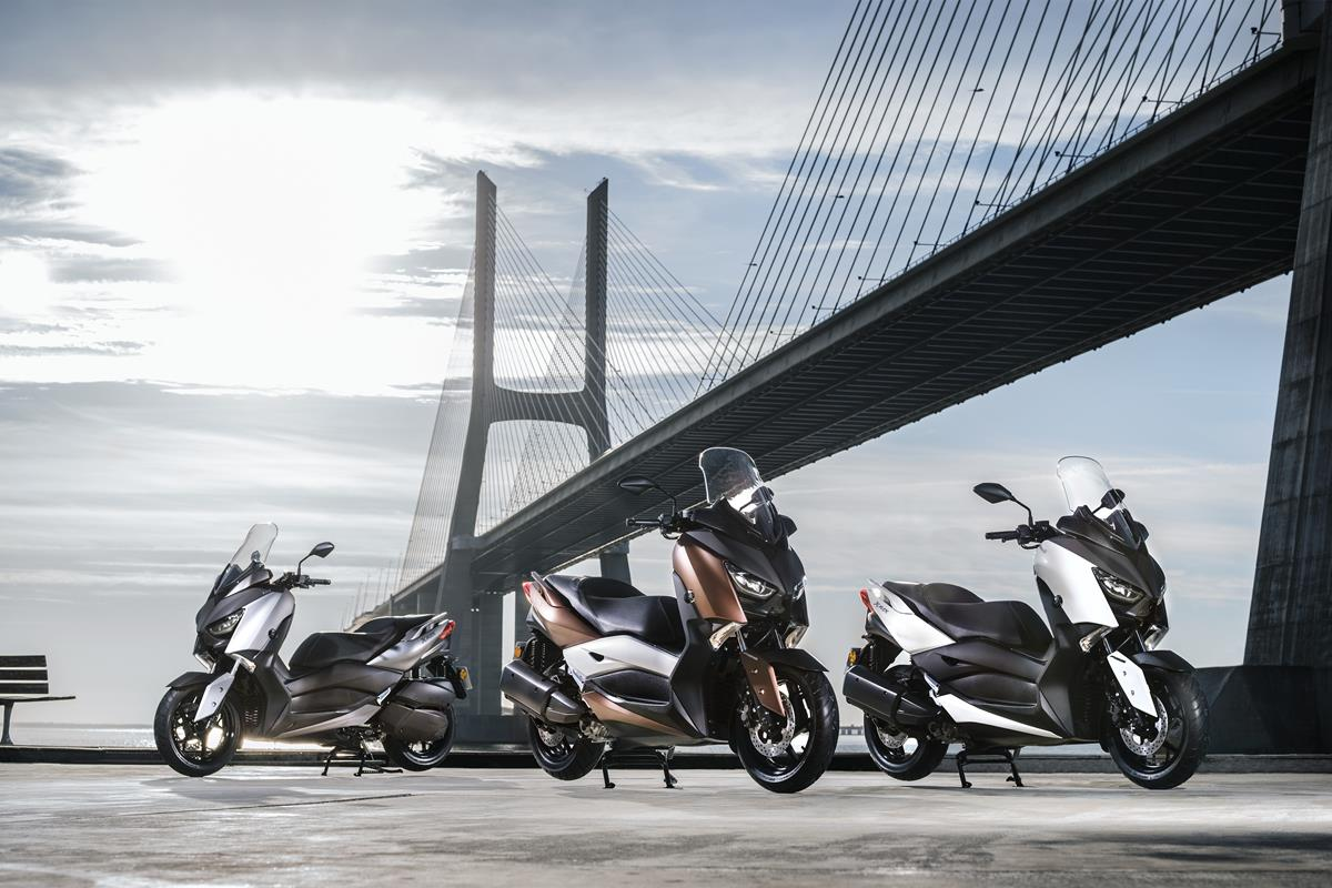 Yamaha xmax 300 2017colores
