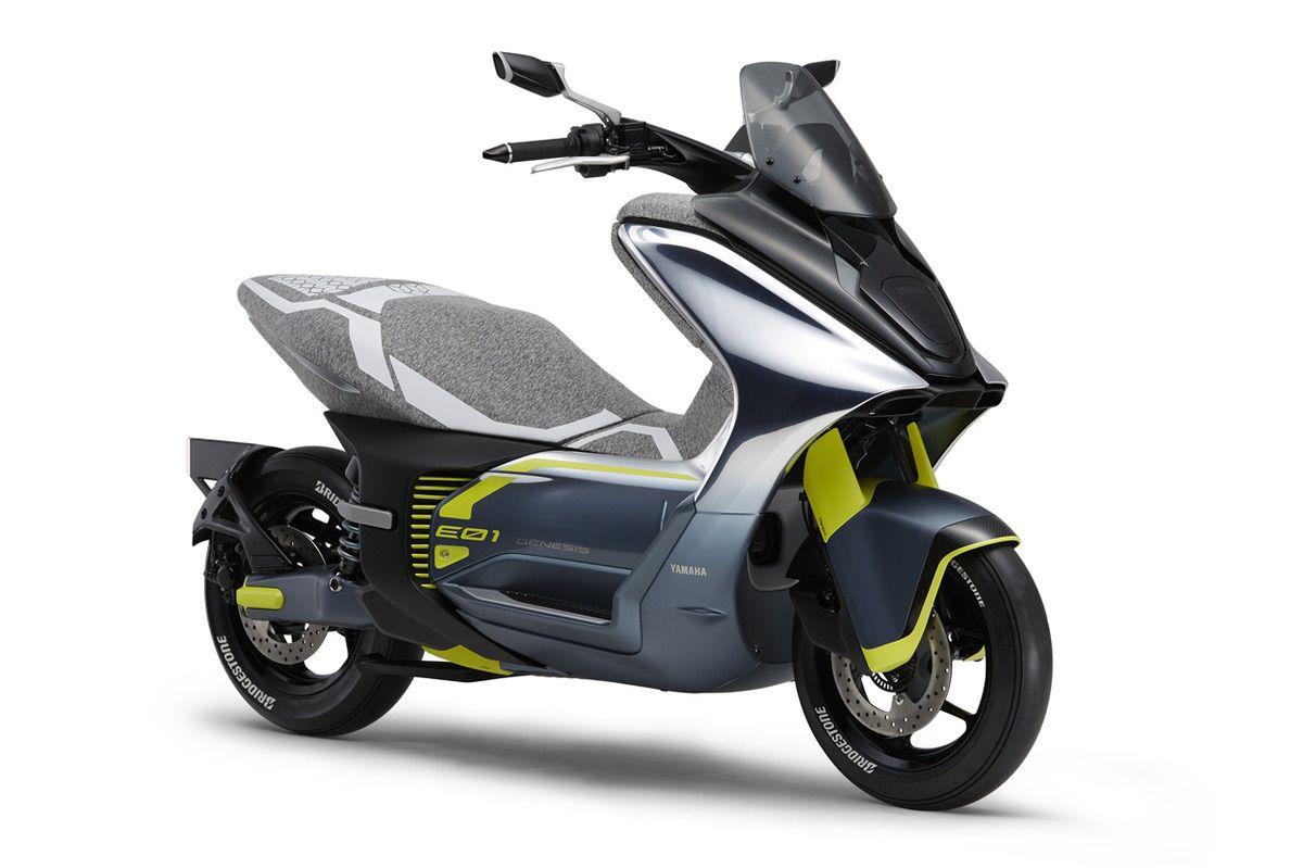 Yamaha E01 Scooter Eléctrico