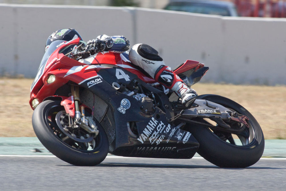 Yamaha de Folch Endurance en las 24 Horas de Motociclismo de Catalunya