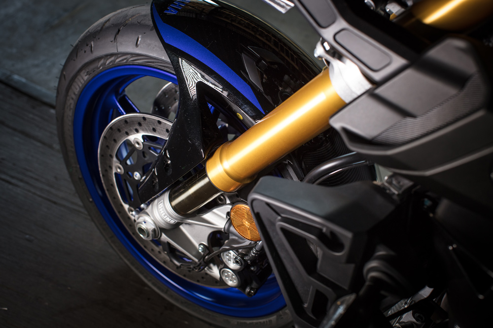 Suspensiones de la Yamaha MT10 SP