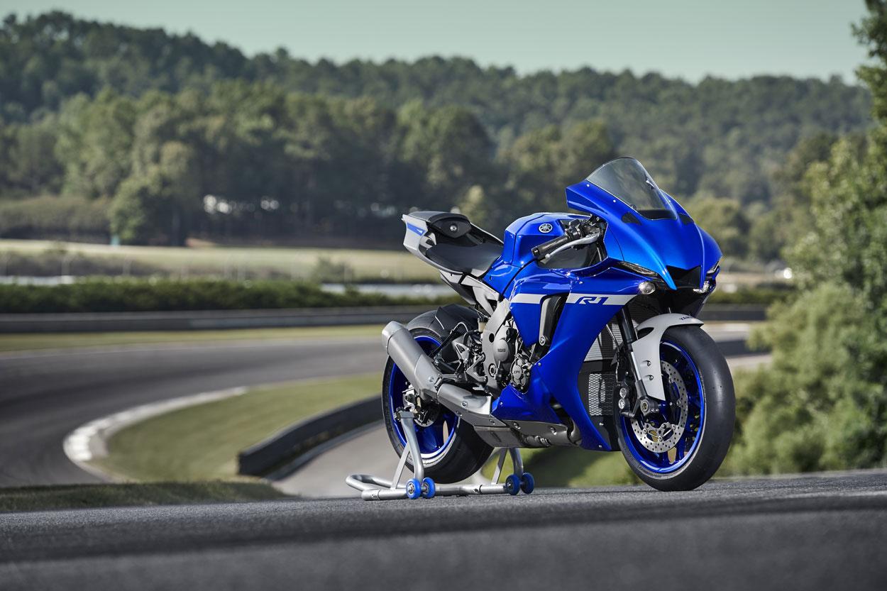 La Yamaha YZF R1 es una de las primeras motos adaptadas a la Euro 5