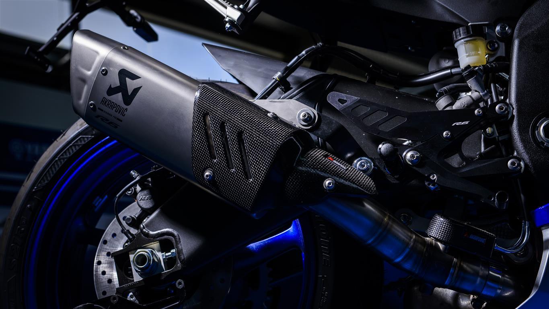 Yamaha YZF R6 2017 Akrapovic