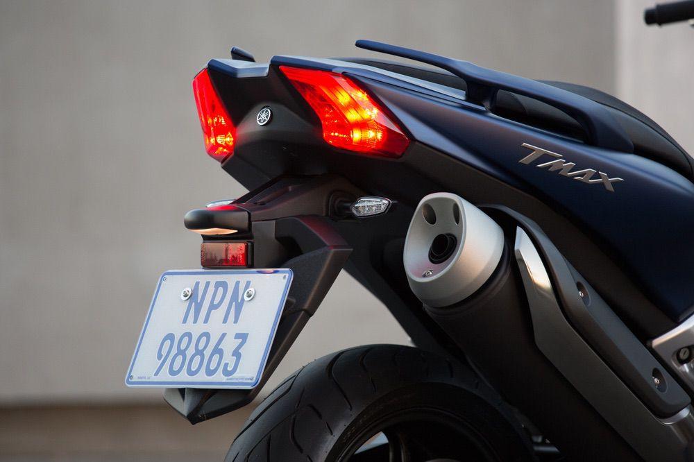 Faro trasero del Yamaha T Max 530 2017