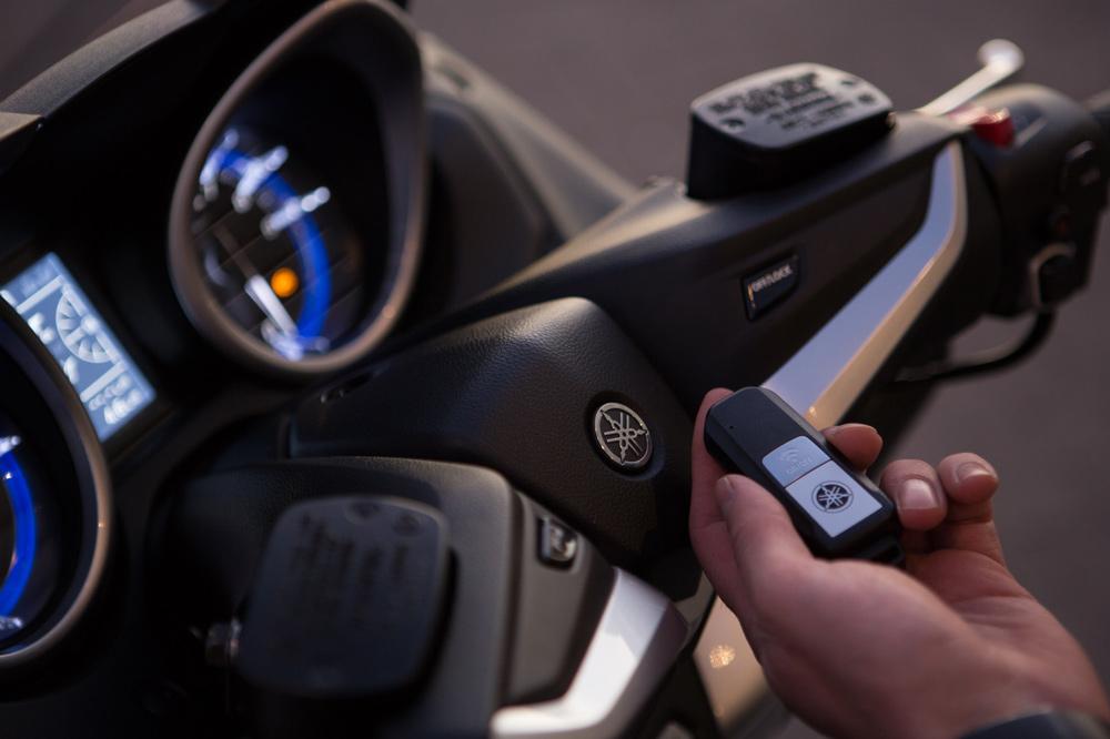 Sistema Smart Key del Yamaha T Max 530