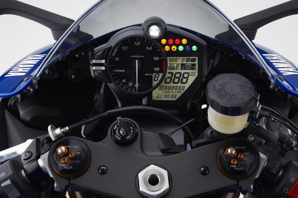 Yamaha YZF R6 2017 Instrumentacion
