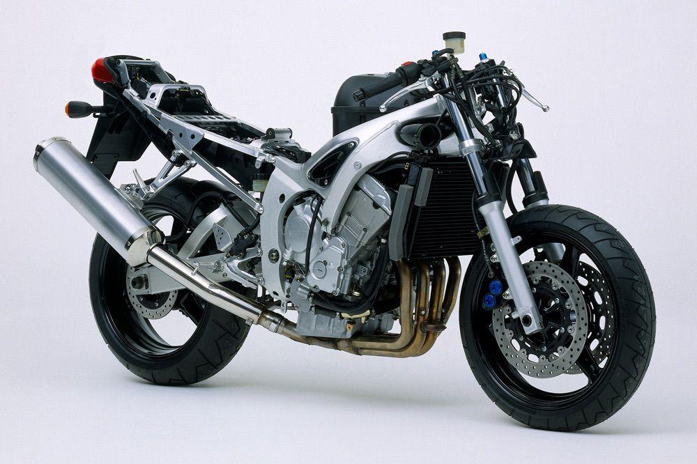 Chasis de la Yamaha YZF R6 1999