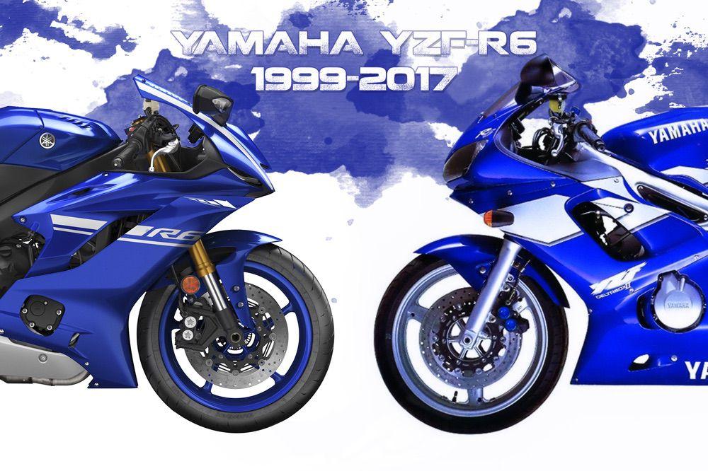 Historia de la Yamaha YZF R6