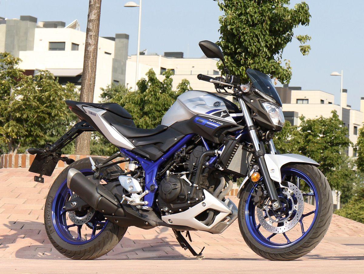 Diseño Yamaha MT-03