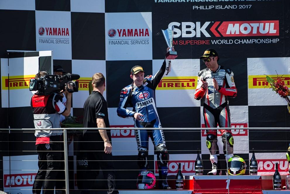 Yamaha R6r podio SSP