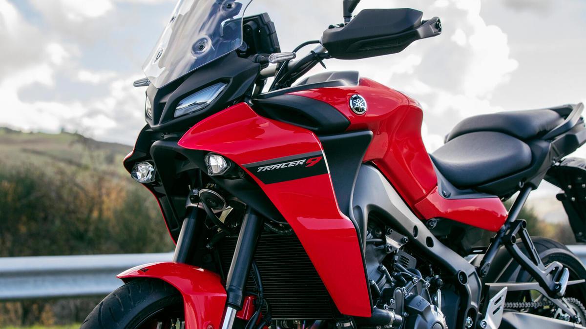 Nuevas Yamaha TRACER 9 2021
