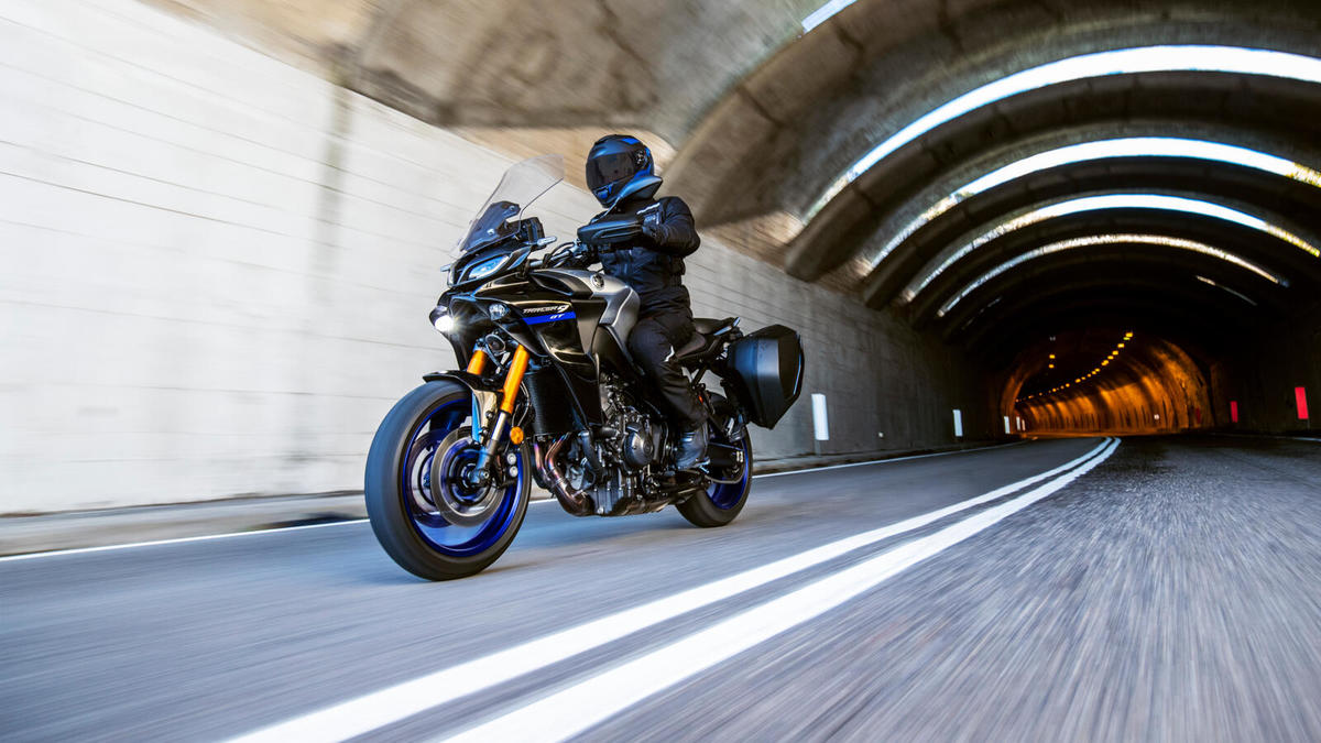 Nuevas Yamaha TRACER 9 GT 2021