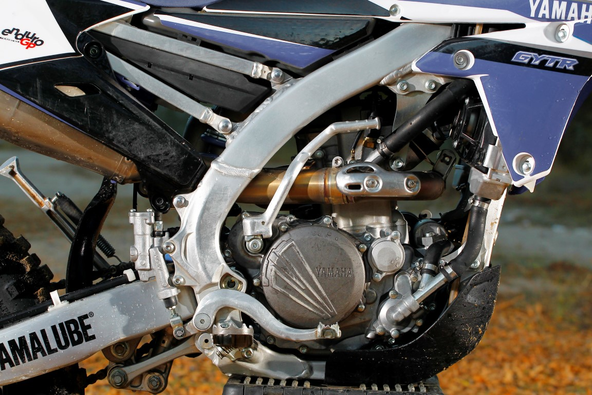 yamaha WR 250F Enduro GP motor