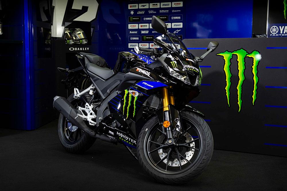 Nueva Yamaha YZF-R125 Monster Energy Yamaha MotoGP