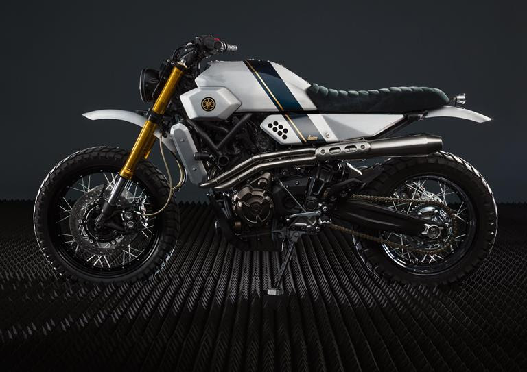Yard Built XSR700 Bunker Custom Motorcycles