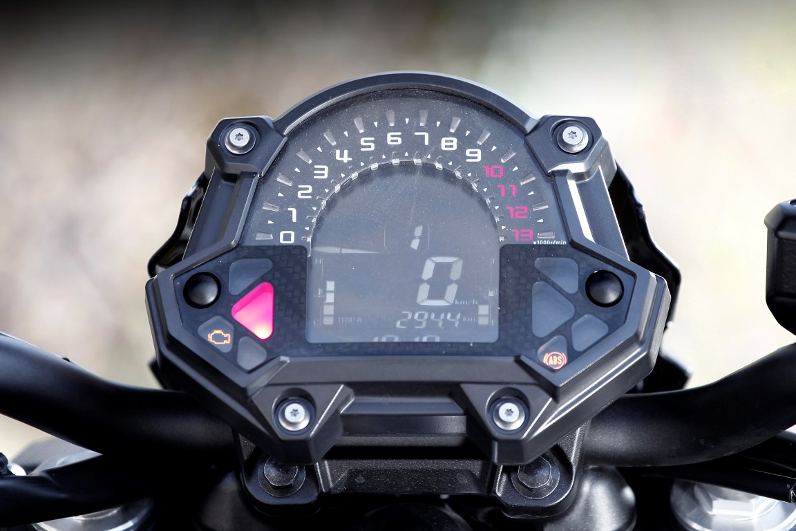 Kawasaki Z650 instrumentación