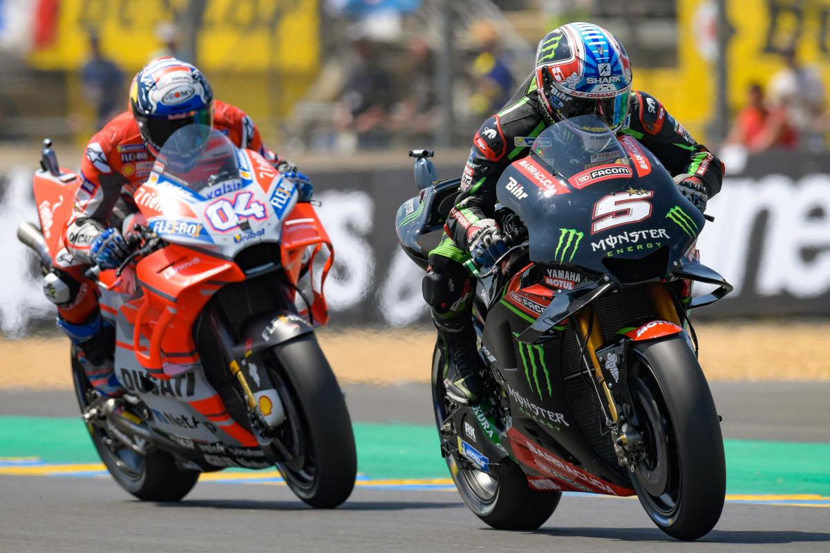 Zarco y Dovi en Le Mans