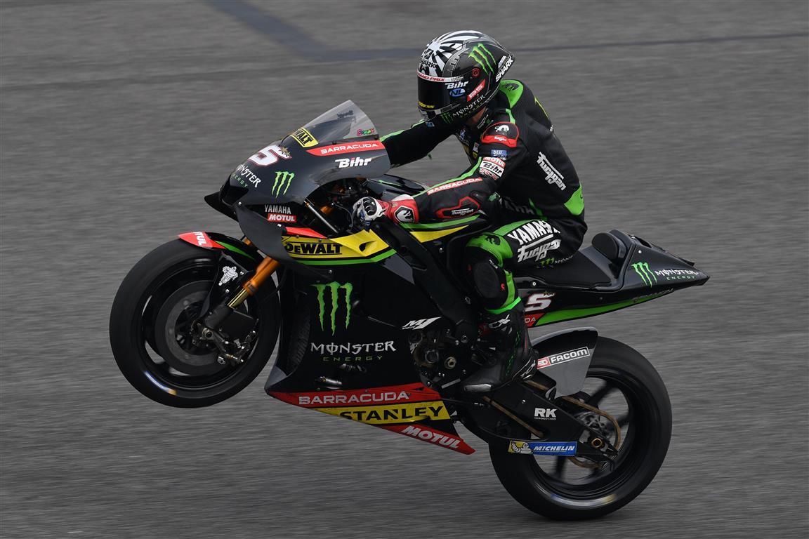 Test MotoGP Tailandia: Zarco segundo