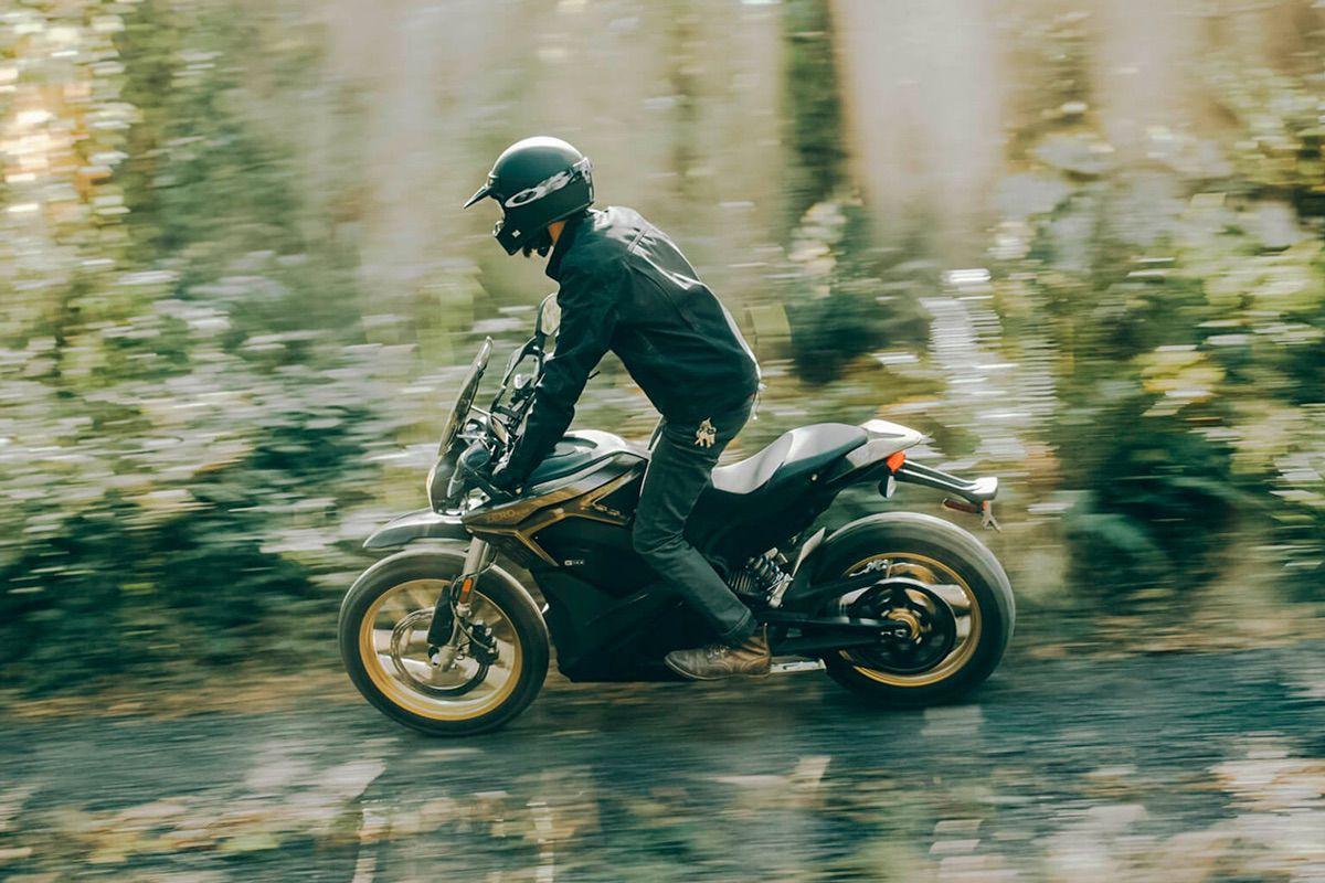 Zero DSR, moto trail eléctrica
