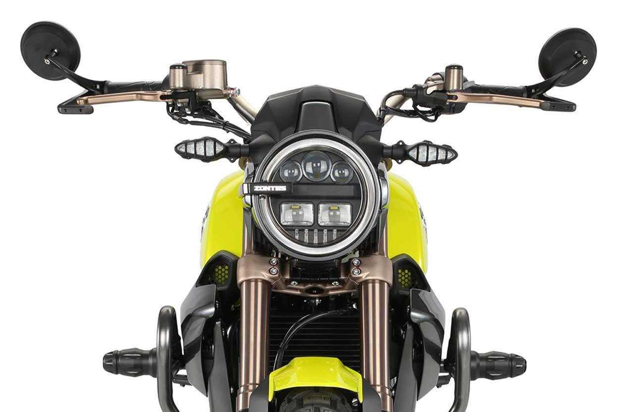Zontes G1 125 2020 Moto Naked con Estilo