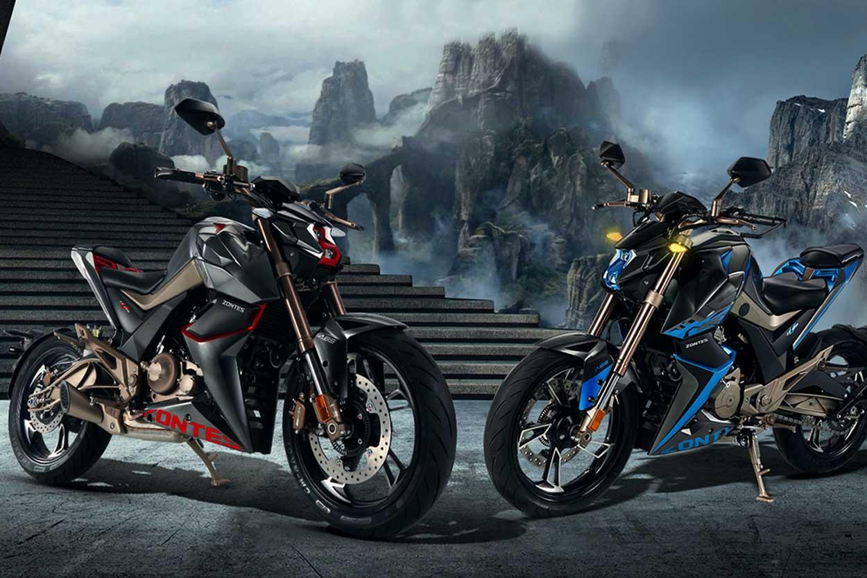 Zontes U 125, moto naked deportiva