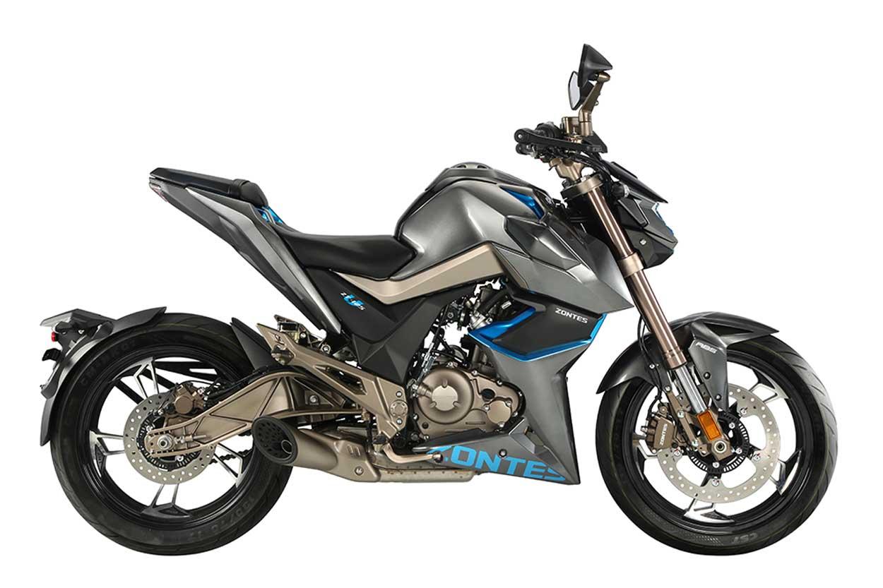 Zontes U 125 Moto Naked Deportiva